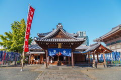Toko-in Temple in Osaka, Japan Royalty Free Stock Images