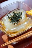 Tokoroten, gelidium jelly, japanese summer food Royalty Free Stock Images