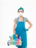 Toksyczny cleaning Zdjęcia Stock