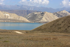 Toktogul Reservoir Royalty Free Stock Photo