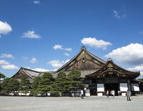 Tokugawa Castle, Nijo in Kyoto. Tokugawa Shogun Castle, Nijo in Kyoto, Japan Stock Photos
