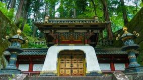 Tokugawa Iemitsu mauzoleum fotografia stock