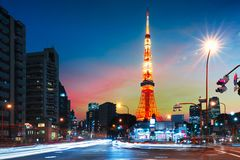 Tokyo Fotografie Stock Libere da Diritti
