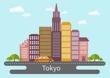 Tokyo 2 vektor abbildung