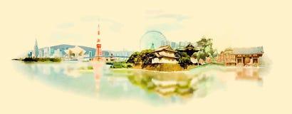 Tokyo Vector Illustratie
