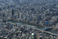Tokyo from above Royalty Free Stock Photos