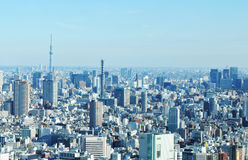 Tokyo aerial Royalty Free Stock Photos