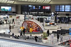 Tokyo Airport Royalty Free Stock Photography