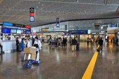 Tokyo airport Royalty Free Stock Images