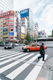 Tokyo, Akihabara 26 november, 2015 Akihabara in Tokyo Royalty-vrije Stock Fotografie