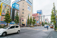 Tokyo, Akihabara 26 november, 2015 Akihabara in Tokyo Akihab Stock Fotografie
