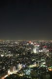 Tokyo alla notte fotografia stock