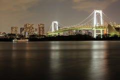 Tokyo alla notte Fotografie Stock Libere da Diritti