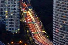 Tokyo alla notte Immagine Stock Libera da Diritti