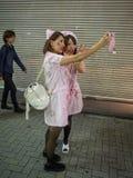 Tokyo allhelgonaafton Fotografering för Bildbyråer