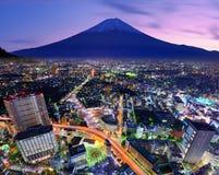 Tokyo And Fuji Royalty Free Stock Photos