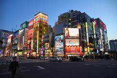 Tokyo neons Stock Image