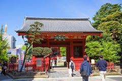 Tokyo. Asakusa. The gate of Senso-JI temple. Stock Image