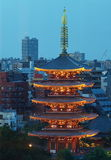 Tokyo Asakusa temple Royalty Free Stock Image