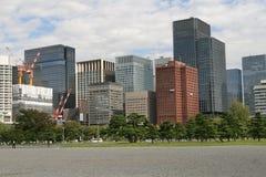 Tokyo-Bürogebäude Stockfotografie