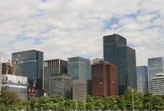 Tokyo-Bürogebäude Stockfoto