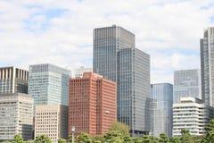 Tokyo-Bürogebäude Lizenzfreie Stockfotografie