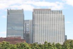 Tokyo-Bürogebäude Stockbilder
