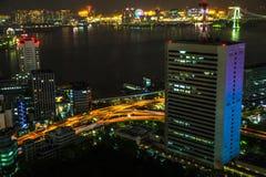 Tokyo Bay area skyline Stock Photo