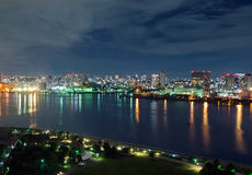 Tokyo Bay night view Royalty Free Stock Photos
