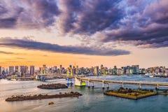Tokyo Bay Skyline Royalty Free Stock Image