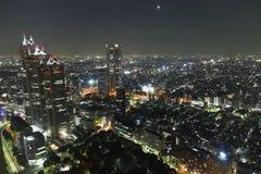 Tokyo bij nacht Royalty-vrije Stock Fotografie