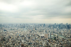 Tokyo bird eye view Royalty Free Stock Images
