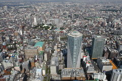 Tokyo bird's eye view Royalty Free Stock Images
