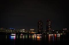 Tokyo bis zum Night Stockbild