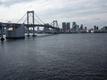 Tokyo  bridge from Odaiba Island Royalty Free Stock Photography
