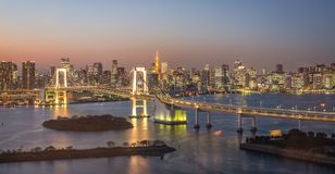 Tokyo bridge from view point Stock Image