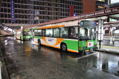 Tokyo bus Stock Photography