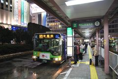 Tokyo bus Stock Images