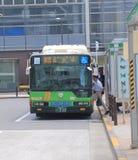 Tokyo bus public transport Stock Images