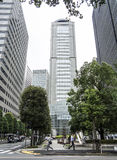 Tokyo business district Royalty Free Stock Photography