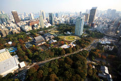 Tokyo byggnader Royaltyfria Foton