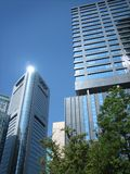 Tokyo CBD. Central Business District in Tokyo royalty free stock images