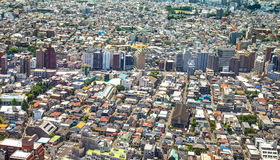 Tokyo, city aerial panoramic view. Street and buildings. Japan, Asia Royalty Free Stock Photo