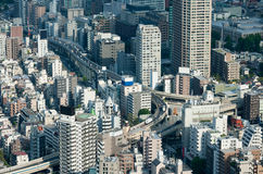Tokyo City Highyay Royalty Free Stock Images