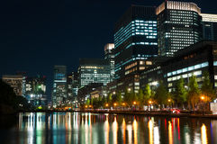 Tokyo City Lights Royalty Free Stock Image