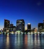 Tokyo city at night Stock Image