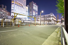 Tokyo City power plant Royalty Free Stock Photos
