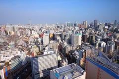Tokyo city skyline Stock Photo