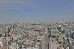 Tokyo city skyline. Bunkyo ward aerial view Stock Image
