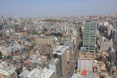Tokyo city skyline. Bunkyo ward aerial view Stock Photos